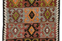 Kilim rugs / Squares