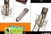 Microfoni, Mixer, Ambienti / Attrezzatura per la voce