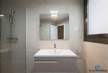 Calle Rosselló | Reforma Integral en Barcelona / Este es el resultado de la reforma integral que realizamos en la calle Rosselló de Barcelona. Tanto el cuarto de baño como la cocina se equiparon por compelto.
