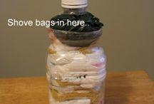 Shopping bag holder
