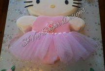 Hello Kitty Ballerina Cake