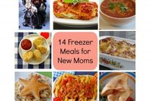 Easy Freezer meals after baby arrives / by Tiffany Ibarra