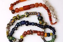 glass beads 8-12th century europe