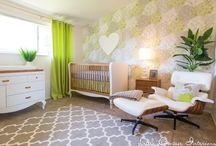 Modern Nursery by Little Crown Interiors