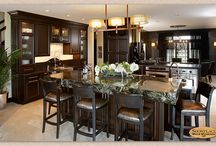 (DP) Kitchen Designs with Islands - Showplace Cabinets / Images of kitchen layouts with islands from Showplace Cabinetry and its nationwide network of dealers.