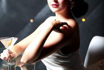 50's glam photoshoot ideas
