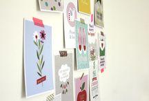 Papiers, carte postales...