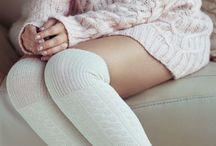 Over-knee socks & tights