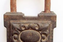 antique padlock