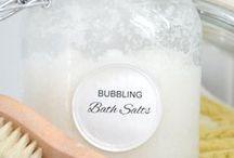 bubbling bath salts
