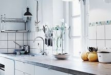 kitchen and dishes / by Meredith e
