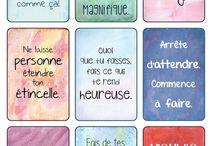 Citations / Phrases de motivation