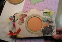 Camera chipboard albums / Sa Crafters chipboard albums