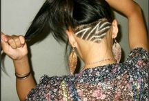 Hair styles and cuts / by Ce cei Hill