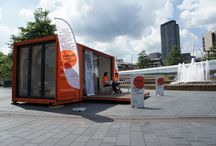 Exhibition Unit - ISOSpaces / Cargotecture Shipping container conversions Pop-up Architecture