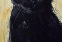 Katter i kunsten