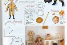 patterns--- doll clothes / by Michele Tibbetts