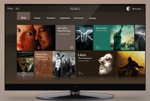 Smart TV UI / by LEA Chung