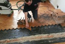 Sanding & Sealing A Living Area / Client: Private Residence In East London Brief: To Sand & Seal the relevant areas