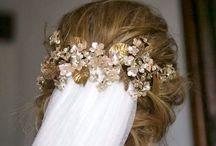Hair jewell - Ozdoby do vlasů / Čelenky, hřebínky, věnečky, chci všechno:)