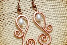 Copper Wire Jewellery Beads