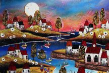Wyecliffe | Enchanted Worlds / Beautiful original artworks from artist Rozanne Bell.