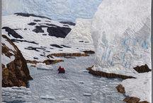 Antarctica Textile Art