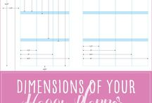 Planner Decorating and Printables / All things planner-related from decorating tips to planner printables.