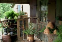 Primitive Front porches / by Judy Lanham Falin