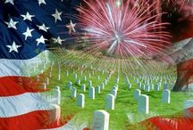 Memorial Day, Labor Day, Veterans Day / by Cindy Bugg