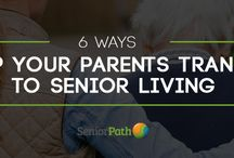 Your Parents and Senior Living / Images and articles that will help you help your parents transition to life in a senior living facility.