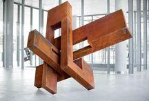 Esculturas en casa