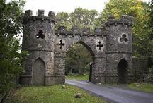 Kasteel porten