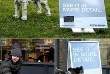 Creative Ads & Guerilla Marketing