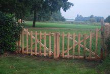 Poorten en hekken / Poorten en hekken door Timmerbedrijf de Boomhut