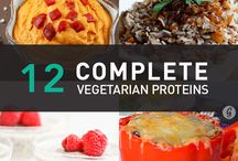 DIETS / VEGETARIAN HIGH PROTEIN / by Janet Merrill