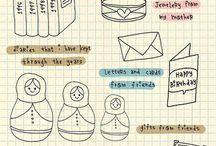 Doodle journaling