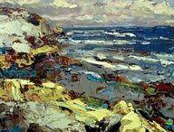 Coastal colours works