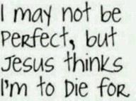 My love for Jesus!