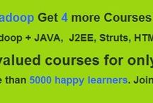 Hadoop Video Training / Simple way to become skilled at world's best technology Hadoop. If you want to have better career, Hadoop is the best choice. Get 5 courses for lowest price ( It's a limited Offer ) http://www.hadooponlinetutor.com/hadoop-5-for-1-offer