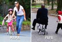 Father VS Mother