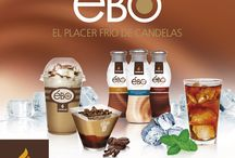 Ébo, el placer helado de Candelas / Ébo Caffe Latte, Ébo Crema y Ébo Té Frío, tres refrescantes líneas de producto pensadas especialmente para su consumo en hostelería en época estival.