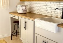 kitchen modern and rustic