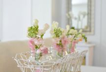 table decoration for putting flower