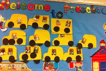 Back to School / Back to school ideas for preschool, kindergarten, and early childhood special ed