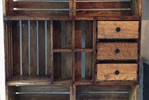 bedýnky - skříňky a stolečky