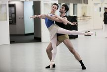Alice in the studio / Our dancers learn the pas de deux of Alice and the Knave of Hearts from Christopher Wheeldon's Alice's Adventures in Wonderland©