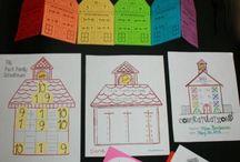 Math ideas / by Cathy Williams