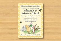 Classic Pooh Baby Shower / Classic Pooh Shower - because Connie loves it!