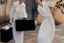 Fashion Image / free & bohemian but elegance feminine, base of classic+minimal